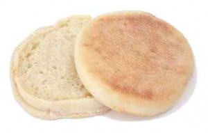 glycemic index of english muffin