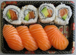 glycemic index of sushi