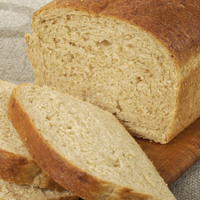 glycemic index of whole wheat bread